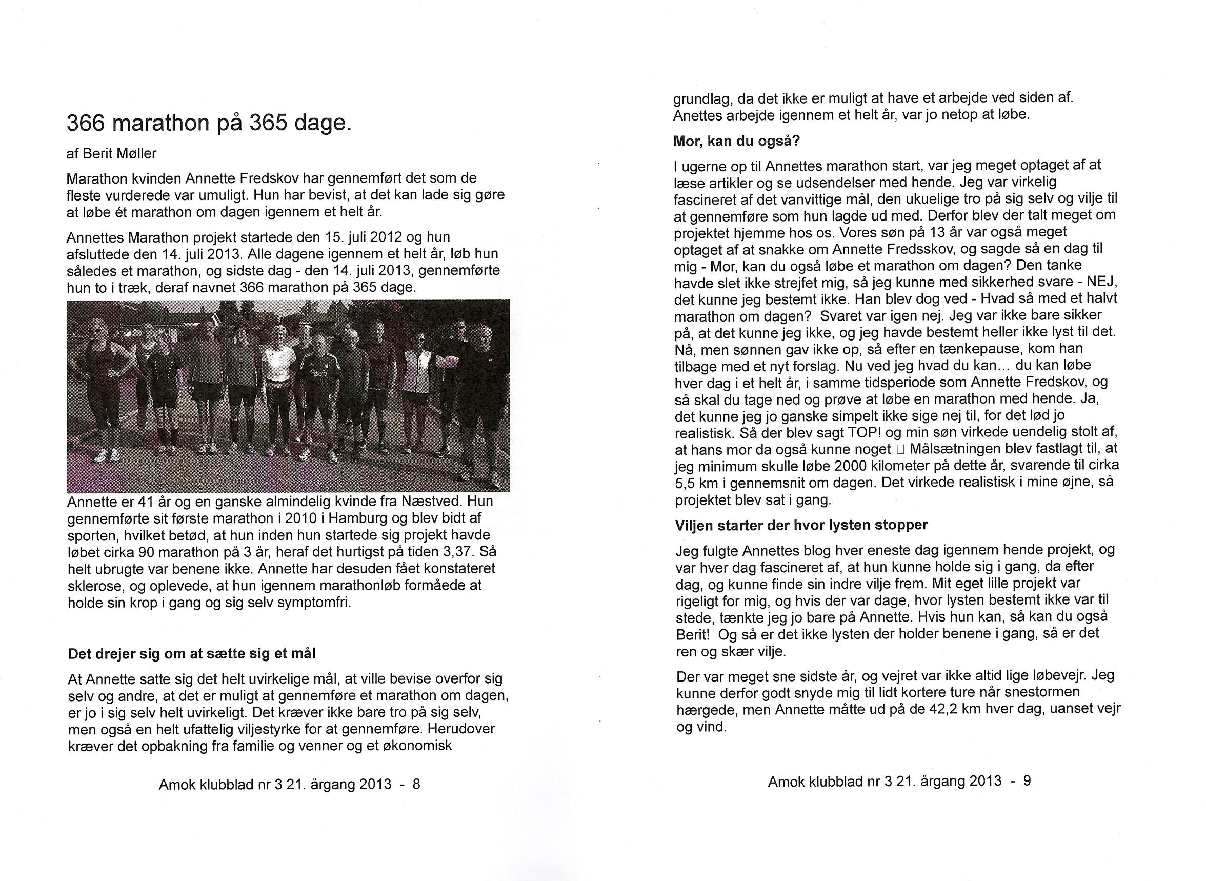 AMOK Medlemsblad 2013.09 #3 - 2
