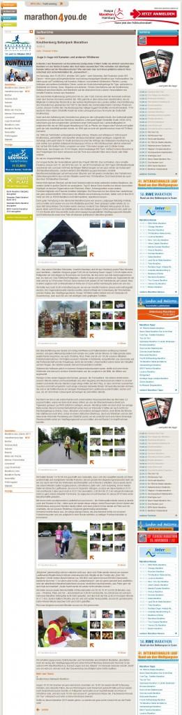 Blog - Christian Hottas (Marathon4you.de - Tysk) 2012.09.15