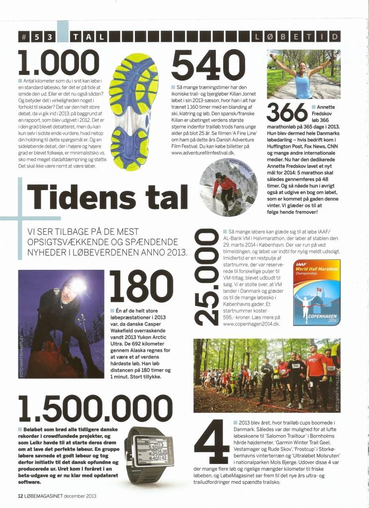 Løbemagasinet 2013.12 #53 - Løbetid