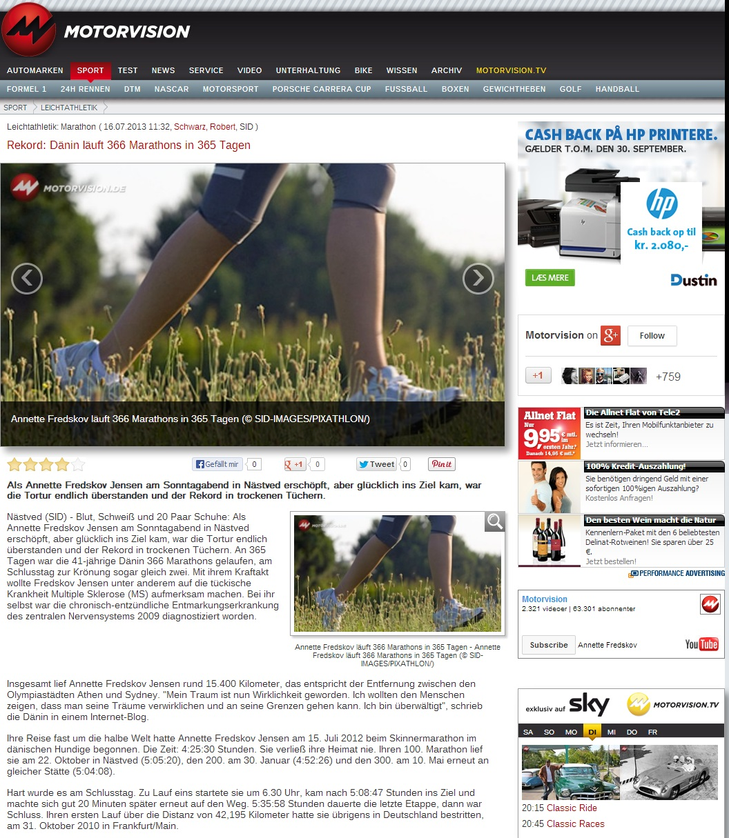 motorvision.de 2013.07.16 tysk