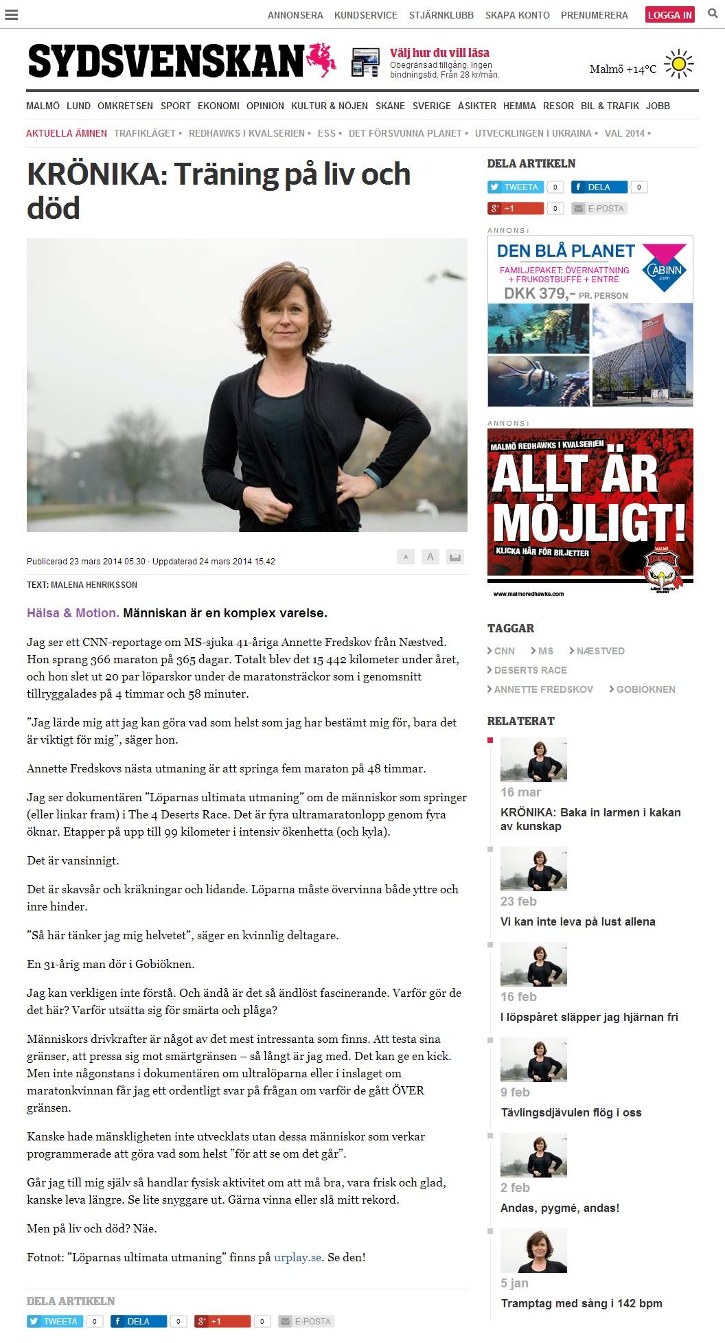 sydsvenskan.se 2014.03.23 svensk