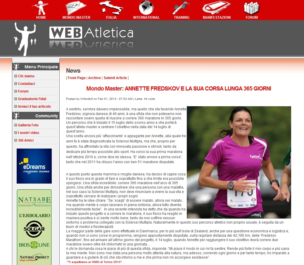 www.webatletica.it 2013.02.01 italiensk