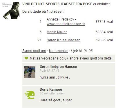 Challenge 2013.01.31 - VIND DET NYE SPORTSHEADSET FRA BOSE! - Comments 1