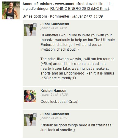 Challenge 2013.02.01 - RUNNING ENERO 2013 (MAX Kms) - Comments