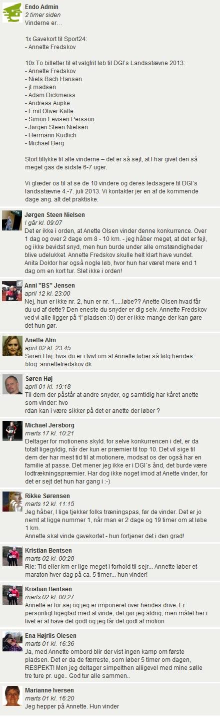 Challenge 2013.04.15 - Varm op til Danmarks største idrætsevent - Comments 1