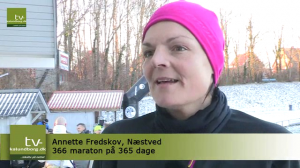 Tv-Kalundborg - Vintermarathon 2013.01.13