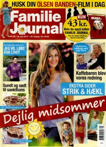 Familie Journal nr. 25 - 2012.06.18 - Forside