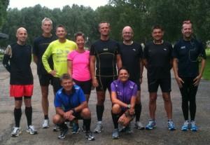 Dagens marathonløbere