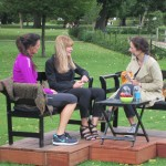 Indslaget slutter med interview med Professor Bente Klarlund