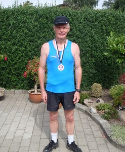 Preben Poulsen løb sin første doublet - marathon to dage i træk. Stort tillykke med den flotte præstation :-)
