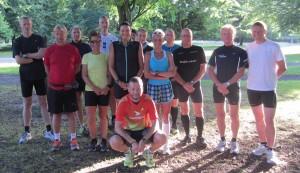Klar til tredje løb i Skodsborg-quintuplen, som blev afholdt i Dyrehaven