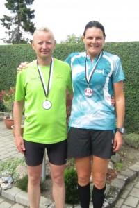Fantastisk at Flemming Borring havde lyst til at tage fra Horsens for at løbe Fredskov Marathon i Næstved. Tak :-)