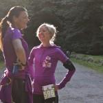 Annette Fredskov og Kirsten Møller-Madsen. Det er lang tid siden. Dejligt gensyn