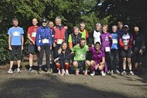Dejlige omgivelser til marathon. 10 omgange i Fruens Bøge og omkring Zoologisk Have