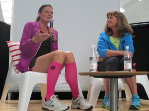 På scenen med Karen Lyager Horve