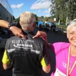 Klub 100 Marathon med fem stjerner som den eneste i Danmark. Anders har løbet over 530 marathon.