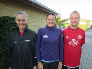 Henning Baginski, Annette Fredskov, Nicholas Felten klar til Fredskov Marathon