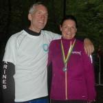 Min mentor Jerk W. Langer og mig. Tak for i dag :-) Foto: Karen Lyager Horve