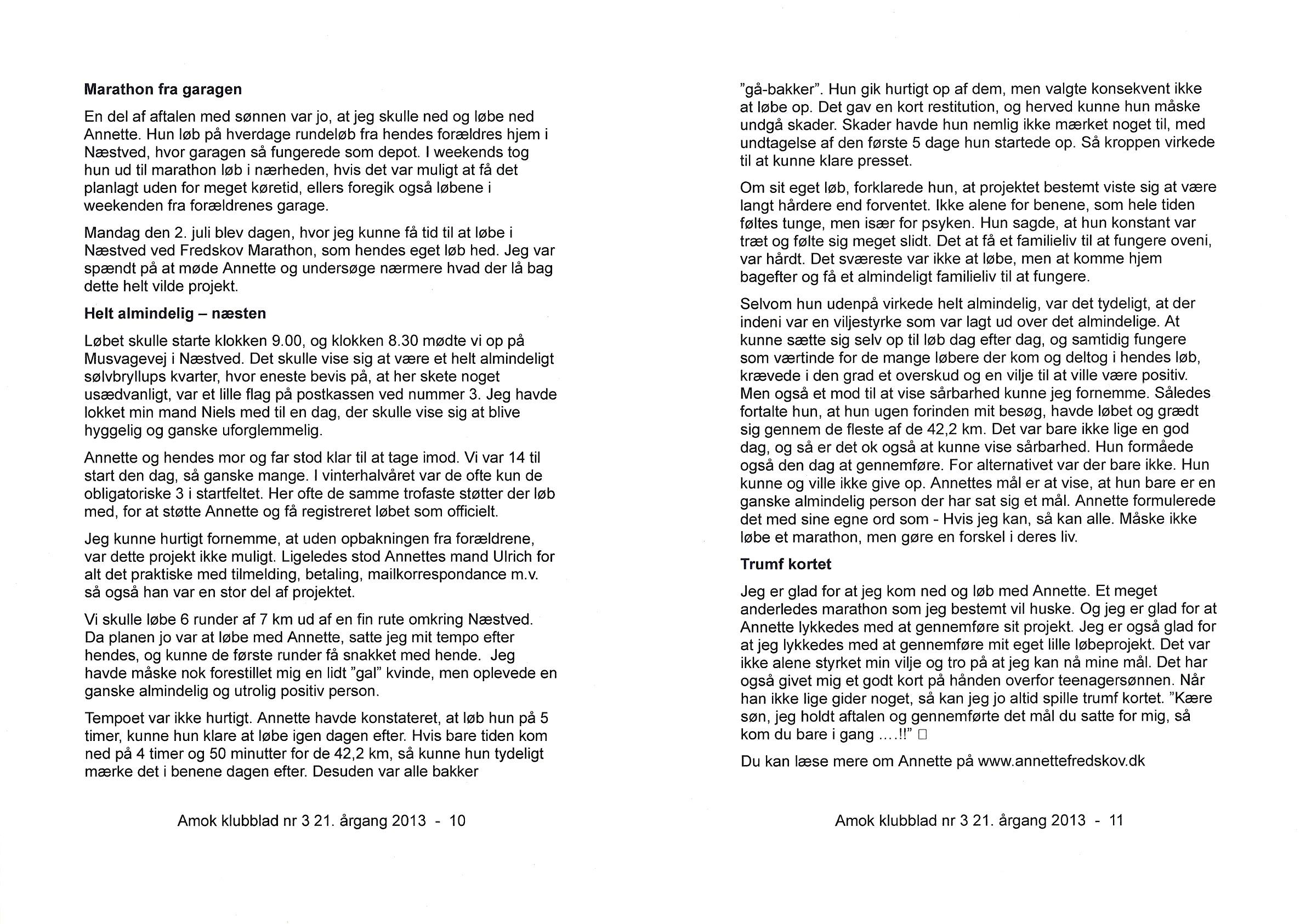 AMOK Medlemsblad 2013.09 #3 - 3