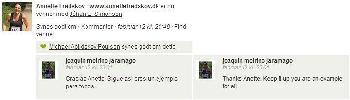 Endomondo comment 2013.02.12