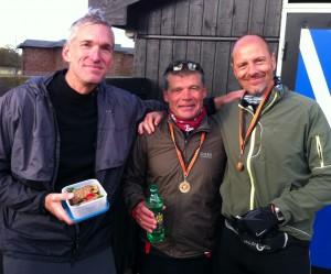 Tre af mine yndlingsløbere - Jerk W. Langer, Ulrik Bruun og SP