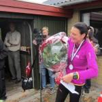 Jeg fik mange gaver og blomster. Denne flotte buket er fra Ulrich, Emilie og Viktor. Tak til alle :-)