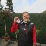 Maj-Britt Filsø Mathiassen glad i mål med Fredskov medaljen