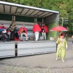 Musik og glade dage. Det er vi ikke vant til Skodsborg Marathon :-)