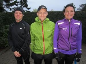 Fredskov Marathon, Løb nr. 93 - 366/365. Mark Bokær Vinfeldt Nielsen, Tonni Bager, Annette Fredskov