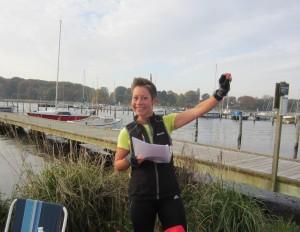 Arrangør Henriette Lisse byder velkommen til det første marathon i Vordingborg - nogensinde :-)