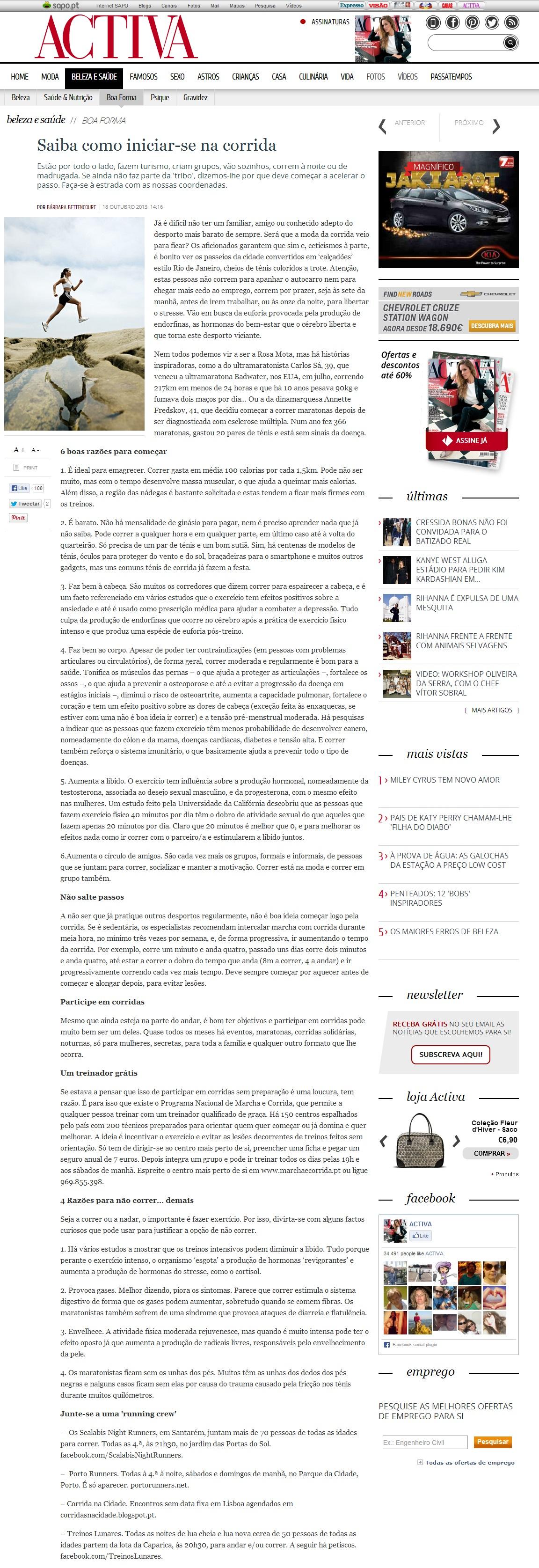 activa.sapo.pt 2013.10.18 portugisisk