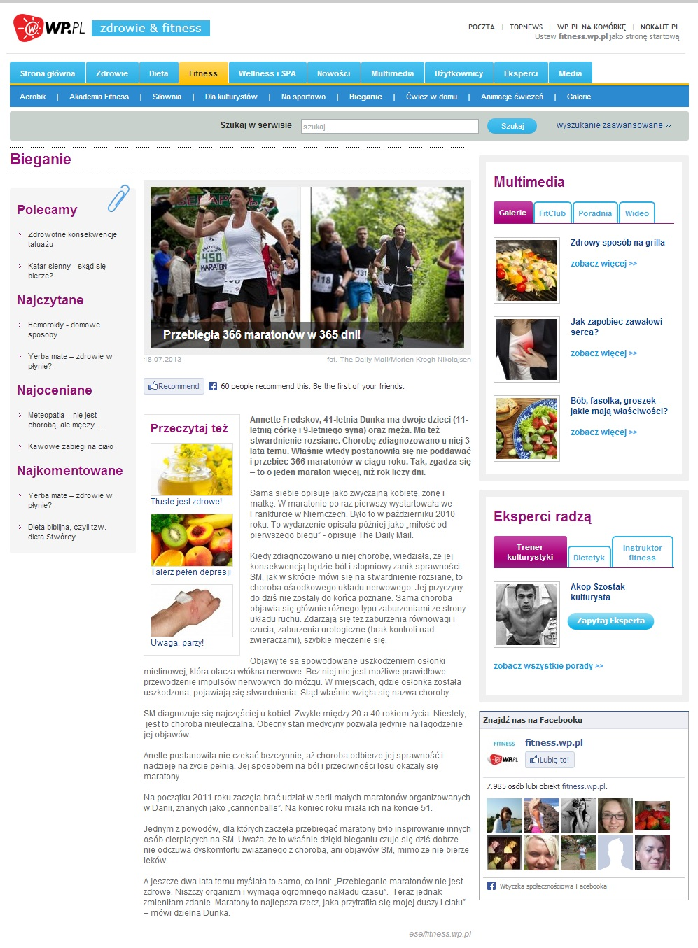 fitness.wp.pl 2013.07.18 polsk