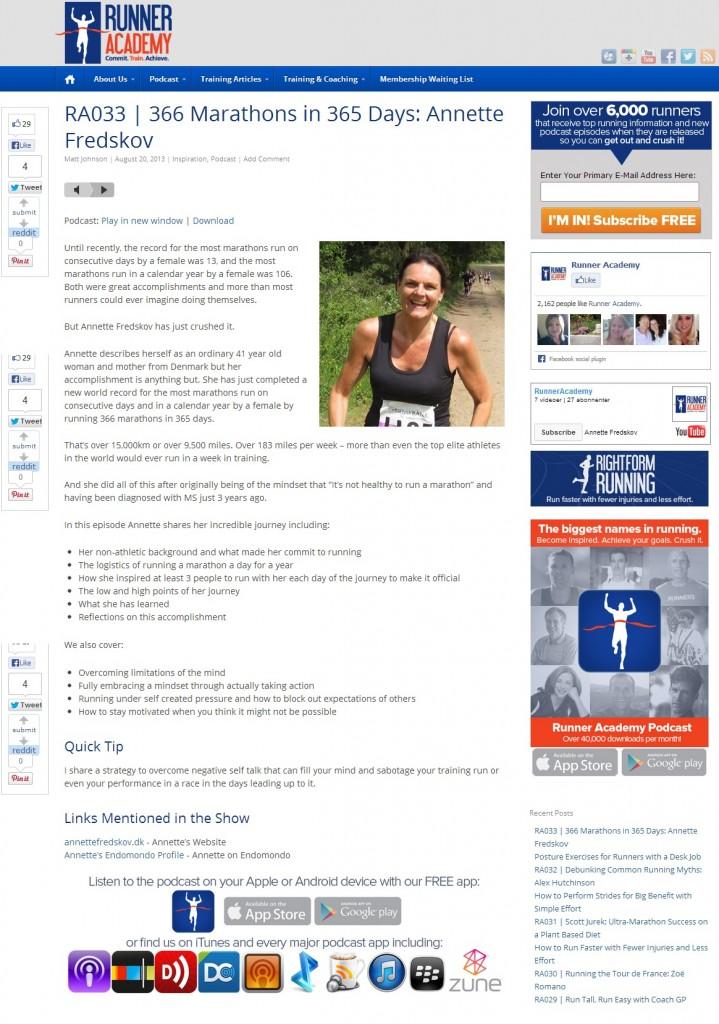 runneracademy.com 2013.08.20