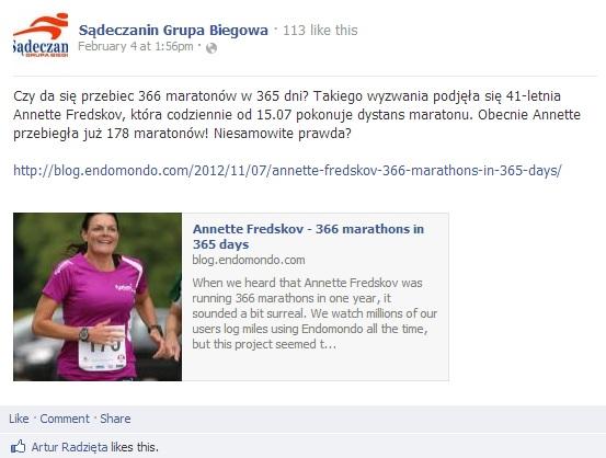 www.facebook.com_SadeczaninGrupaBiegowa 2013.02.04 polsk
