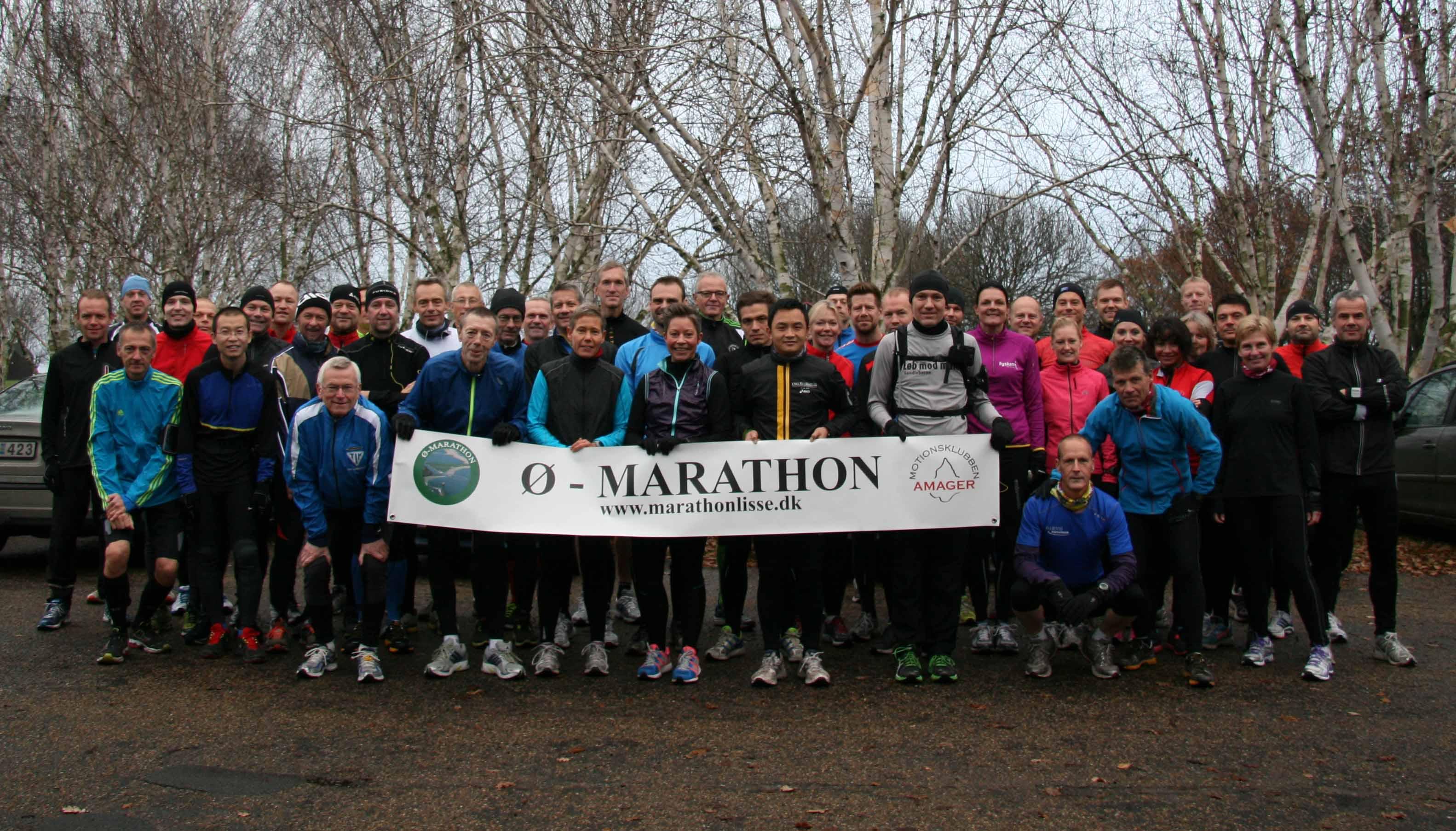 Omkring 50 til start til Ø-Marathon i Amager Strandpark