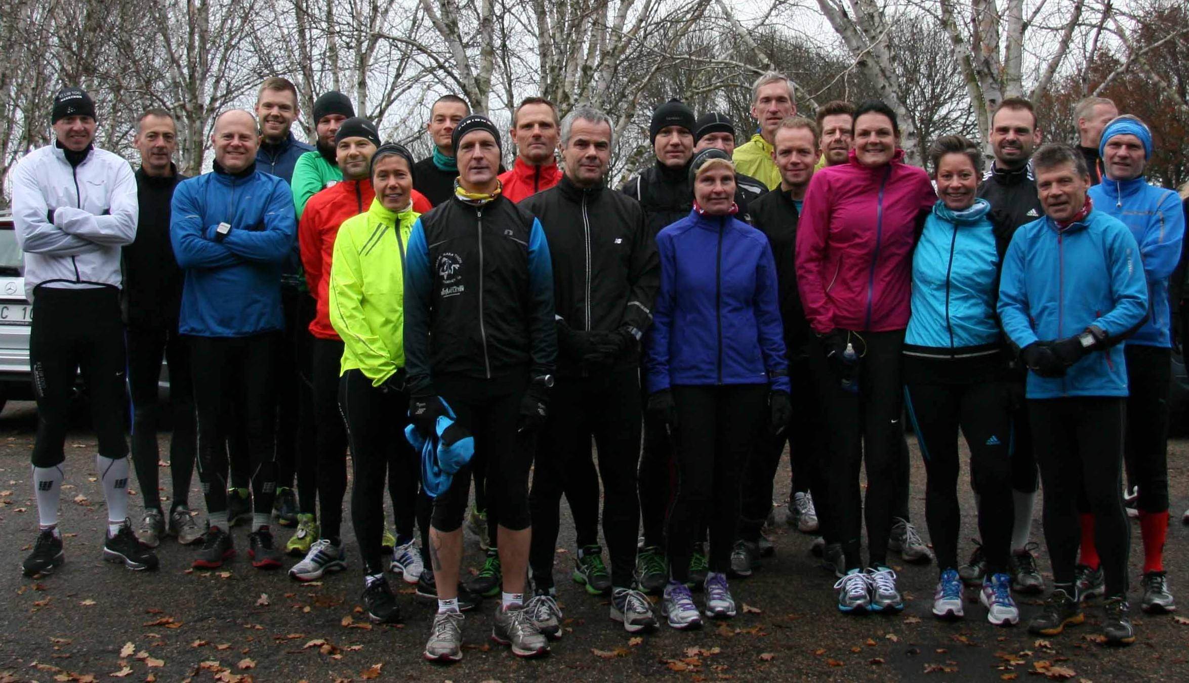 Mange løb dublet i weekenden. Ø-Marathon både lørdag og søndag