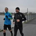 Carsten Jensen og Carsten Dahl i godt humør