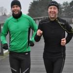 Ulrik Pihl og Torben Larsen æder kilometerne