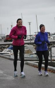 Lene Bruun og jeg kan stadig smile lidt :-)