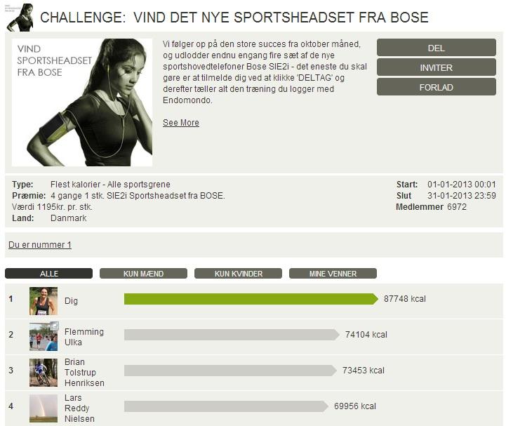 Challenge 2013.01.31 - VIND DET NYE SPORTSHEADSET FRA BOSE!