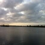 Damhussøen en efterårsmorgen