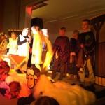Viktor på scenen i årets julestykke :-)