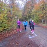 Løb og hygge. Annette Fredskov, Anders Munch Madsen, Rene Hjorth Olsen, Birgitte Munch Nielsen