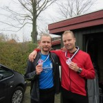 Først i mål - Morten Stützer og Nicholas Felten