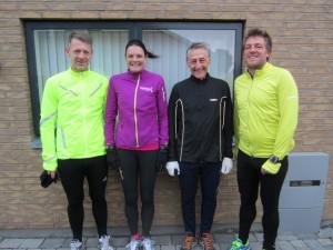 Dagens friske felt: Jonfinn Thomassen, Annette Fredskov, Henning Baginski, Nicky Schmidt