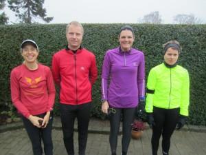 Løb nr. 137 - 366/365. Tracy Høeg, Nicholas Felten, Annette Fredskov, Malene Ravn