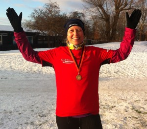 Stort tillykke til Susanne Schleppegrell med marathon nummer 100