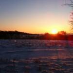 En fantastisk solopgang :-)