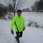 Carsten Christensen i sneen
