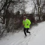 Susanne Lundgreen løber igennem Rønnebæk